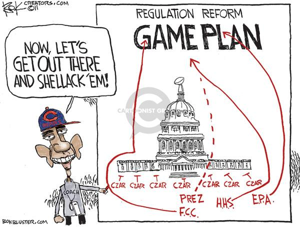 Cartoonist Chip Bok  Chip Bok's Editorial Cartoons 2011-01-24 bear