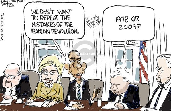 Chip Bok  Chip Bok's Editorial Cartoons 2011-01-31 Joe Biden