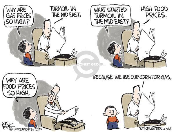 Cartoonist Chip Bok  Chip Bok's Editorial Cartoons 2011-02-02 east