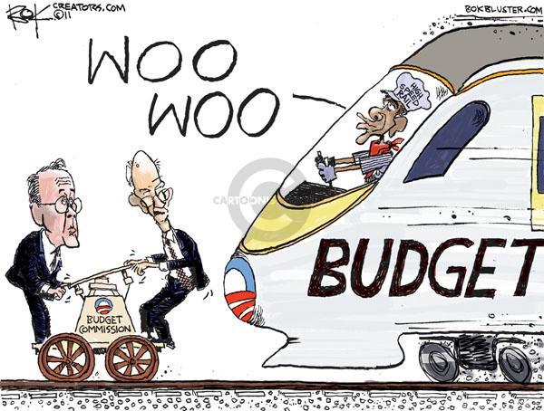 Cartoonist Chip Bok  Chip Bok's Editorial Cartoons 2011-02-15 former president