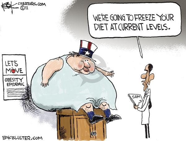 Chip Bok  Chip Bok's Editorial Cartoons 2011-02-22 American