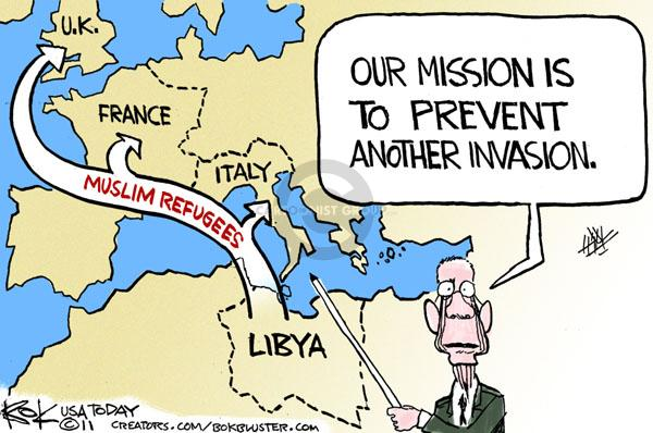 Cartoonist Chip Bok  Chip Bok's Editorial Cartoons 2011-03-21 migration