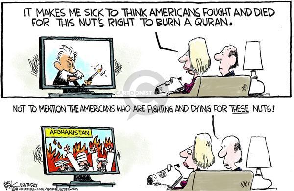 Cartoonist Chip Bok  Chip Bok's Editorial Cartoons 2011-04-04 reaction