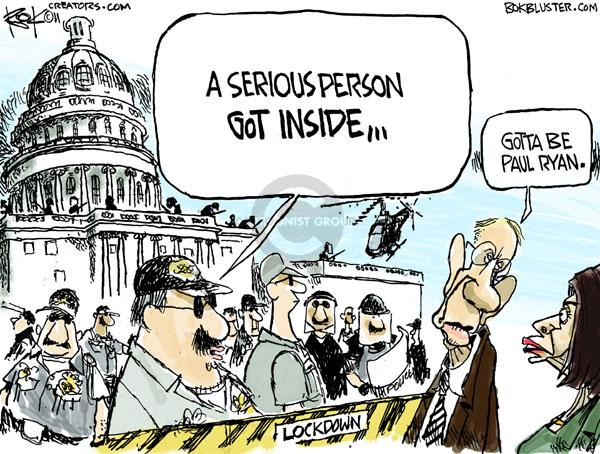 Chip Bok  Chip Bok's Editorial Cartoons 2011-04-08 federal budget