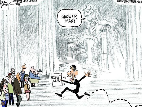 Chip Bok  Chip Bok's Editorial Cartoons 2011-04-12 Abraham Lincoln