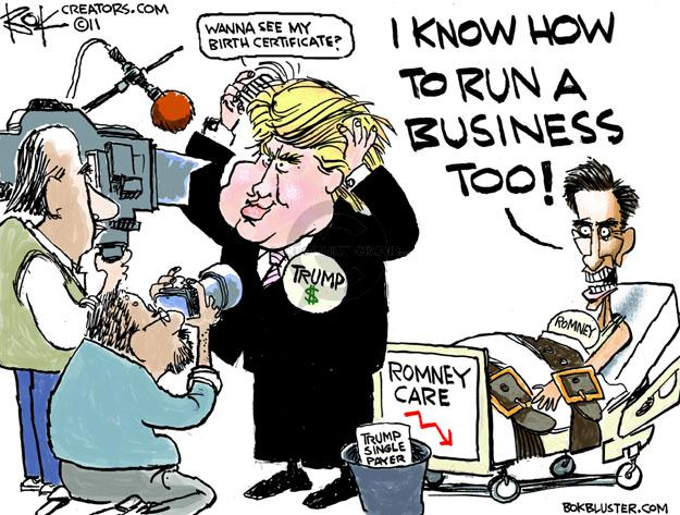 Cartoonist Chip Bok  Chip Bok's Editorial Cartoons 2011-04-20 payer