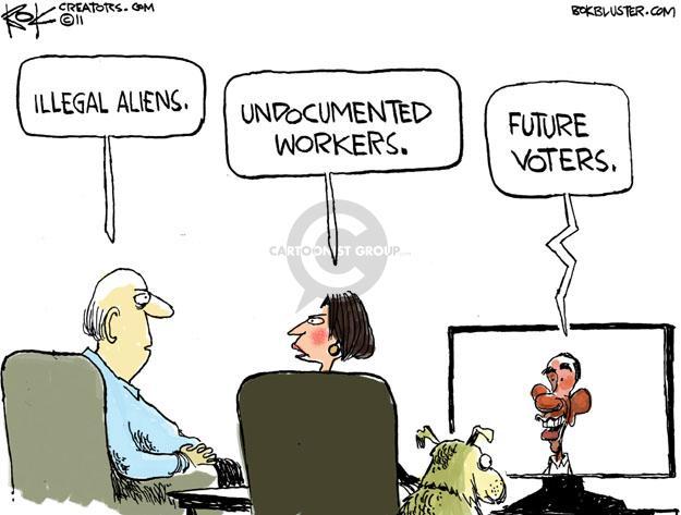Cartoonist Chip Bok  Chip Bok's Editorial Cartoons 2011-05-16 Obama economy