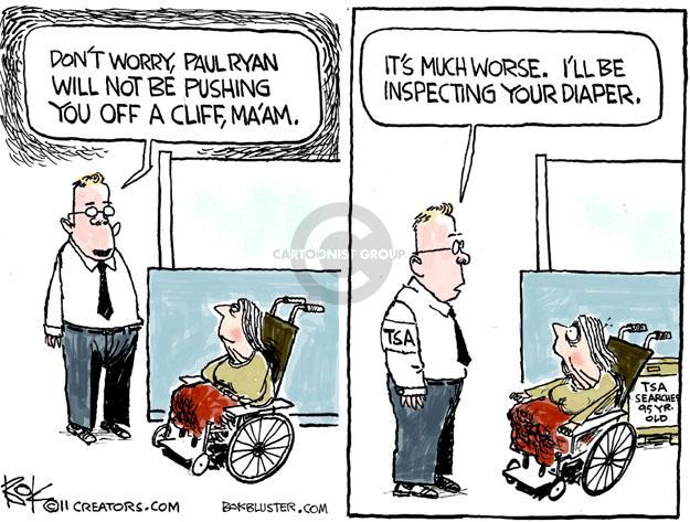 Cartoonist Chip Bok  Chip Bok's Editorial Cartoons 2011-06-28 Paul Ryan
