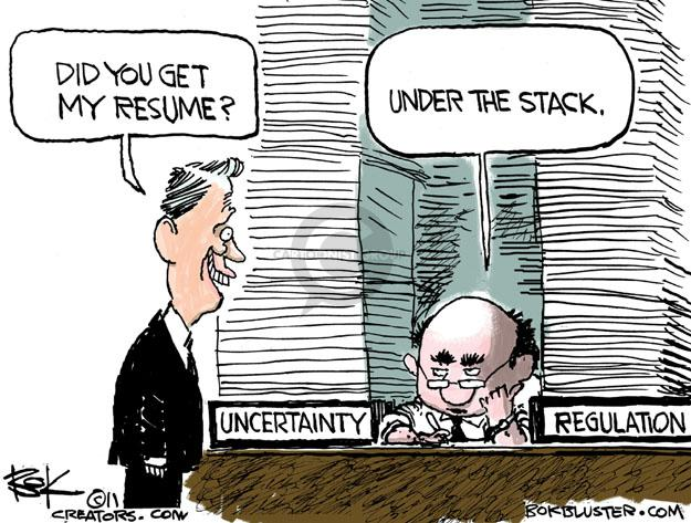 Cartoonist Chip Bok  Chip Bok's Editorial Cartoons 2011-07-06 employment