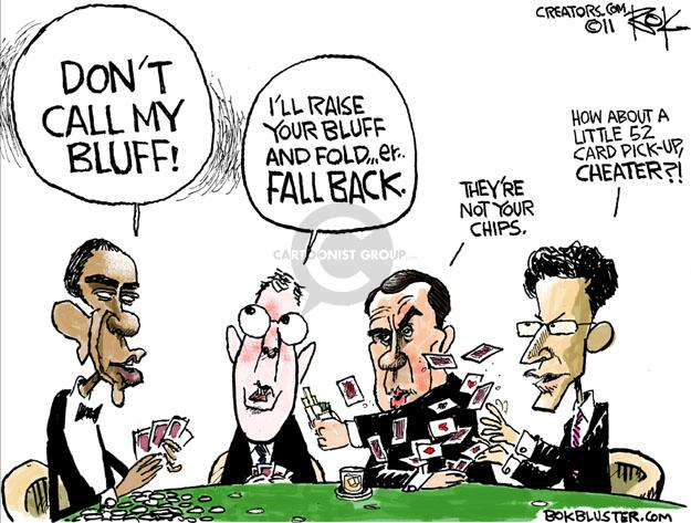 Chip Bok  Chip Bok's Editorial Cartoons 2011-07-15 federal budget