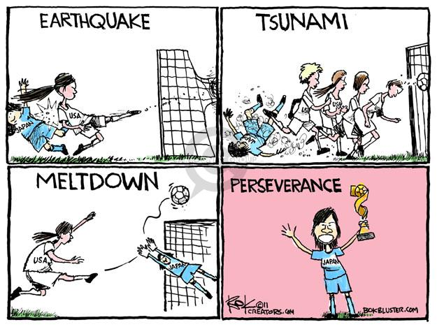 Chip Bok  Chip Bok's Editorial Cartoons 2011-07-18 disaster