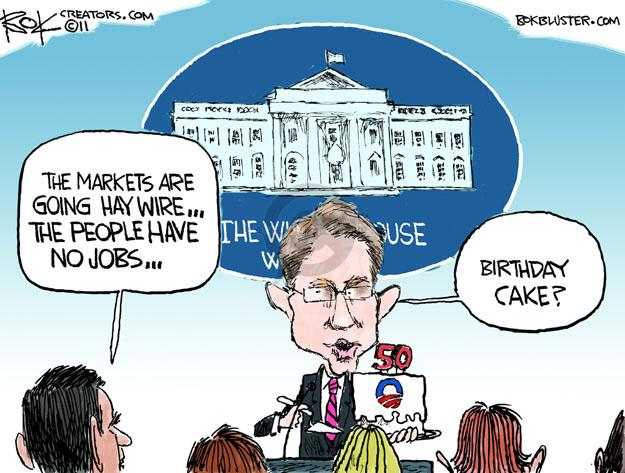 Cartoonist Chip Bok  Chip Bok's Editorial Cartoons 2011-08-05 global economy