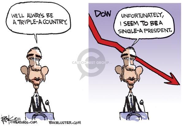 Cartoonist Chip Bok  Chip Bok's Editorial Cartoons 2011-08-08 Jones