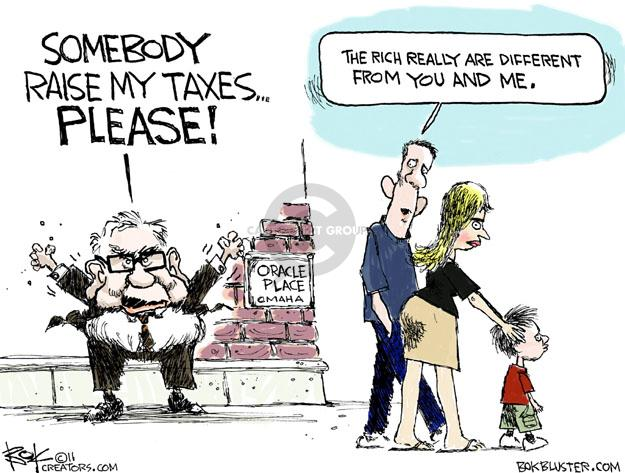 Cartoonist Chip Bok  Chip Bok's Editorial Cartoons 2011-08-17 taxpayer