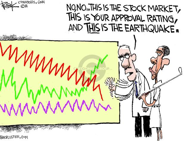 Chip Bok  Chip Bok's Editorial Cartoons 2011-08-23 stock market