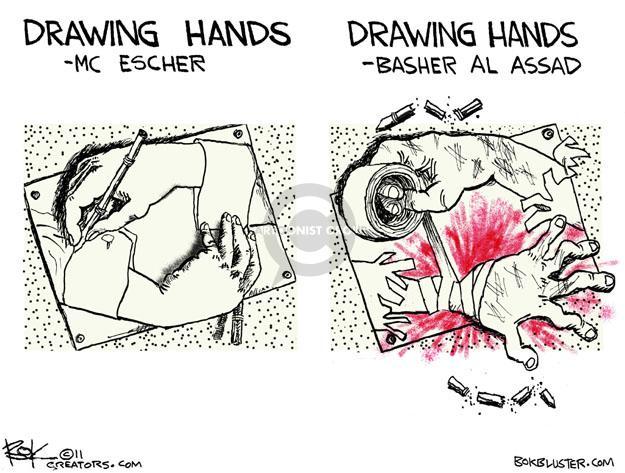 Chip Bok  Chip Bok's Editorial Cartoons 2011-08-26 Arab revolt