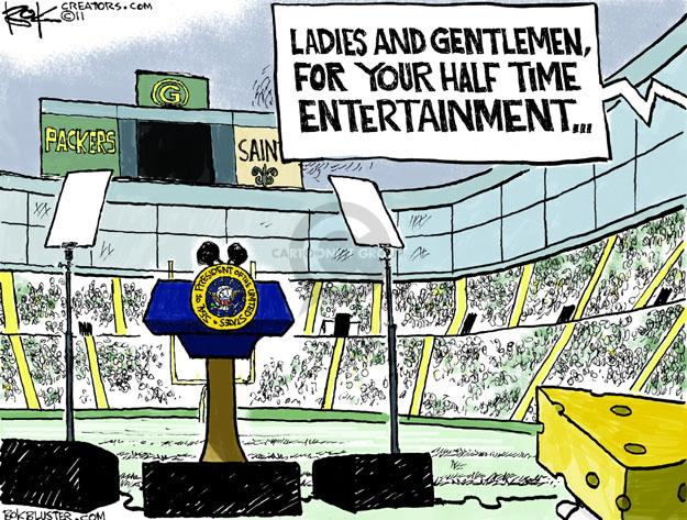 Cartoonist Chip Bok  Chip Bok's Editorial Cartoons 2011-09-06 opener