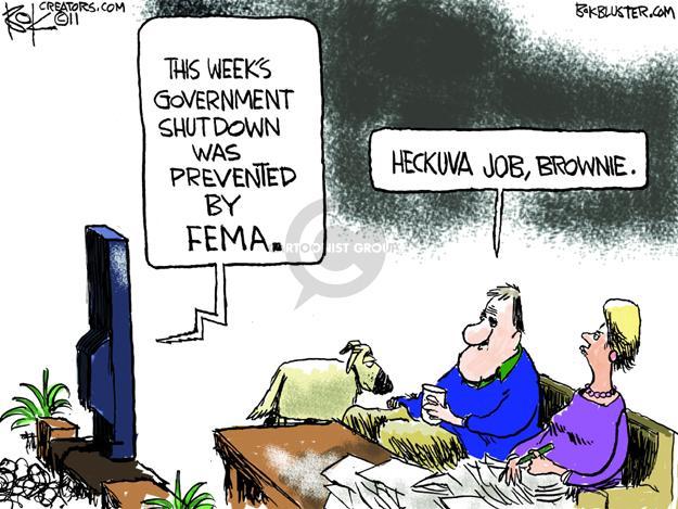 Chip Bok  Chip Bok's Editorial Cartoons 2011-09-27 disaster