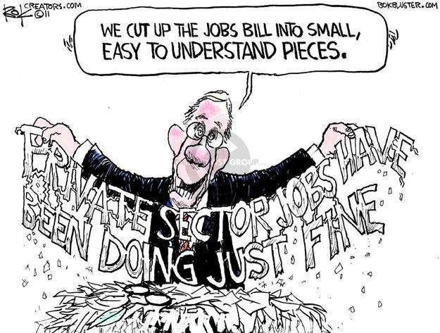 Cartoonist Chip Bok  Chip Bok's Editorial Cartoons 2011-10-19 legislation