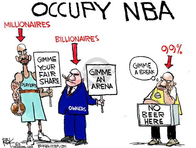 Cartoonist Chip Bok  Chip Bok's Editorial Cartoons 2011-10-31 NBA