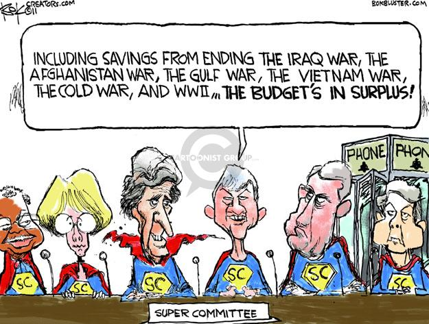Chip Bok  Chip Bok's Editorial Cartoons 2011-11-14 Cold War