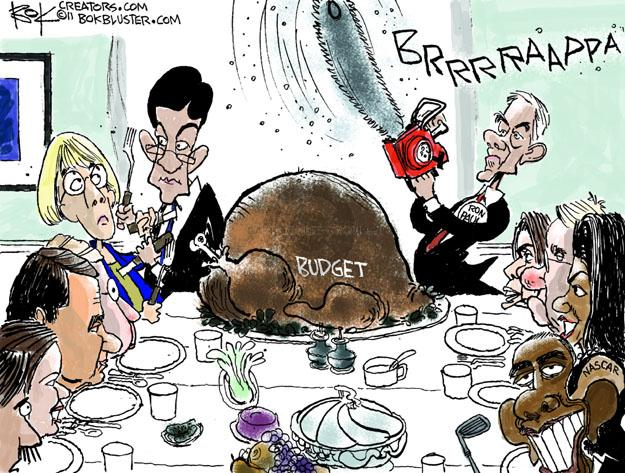 Chip Bok  Chip Bok's Editorial Cartoons 2011-11-22 first lady
