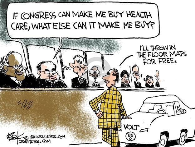 Cartoonist Chip Bok  Chip Bok's Editorial Cartoons 2011-11-26 hybrid car