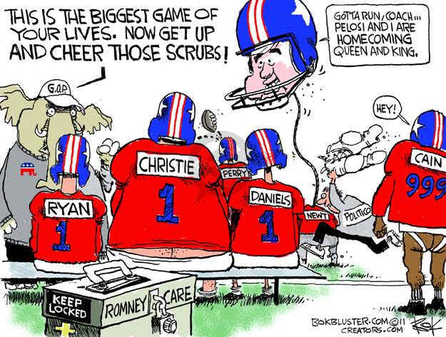 Cartoonist Chip Bok  Chip Bok's Editorial Cartoons 2011-12-02 support