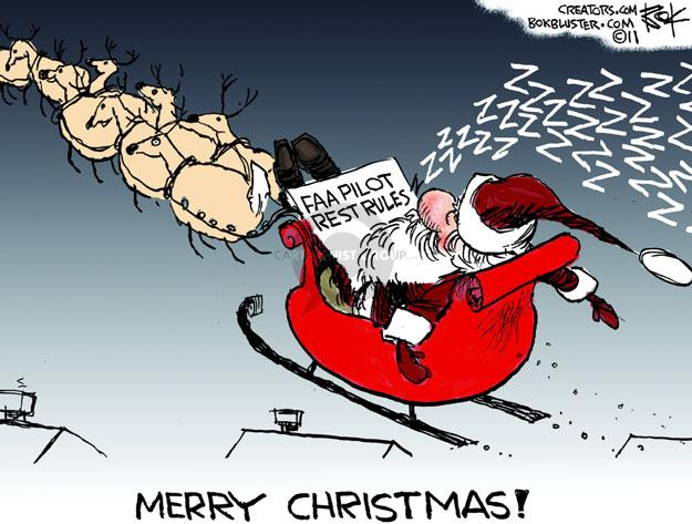 FAA Pilot Rest Rules. ZZZZZZZZZZZZZ. Merry Christmas!