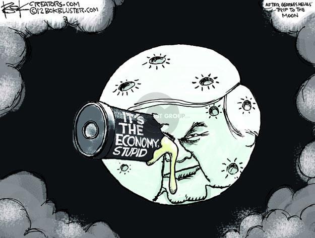 Chip Bok  Chip Bok's Editorial Cartoons 2012-01-27 2012 election economy
