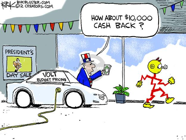 Cartoonist Chip Bok  Chip Bok's Editorial Cartoons 2012-02-17 transportation