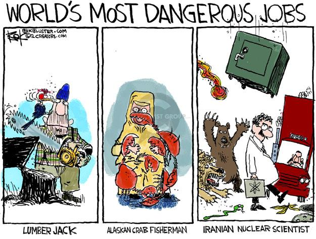 Chip Bok  Chip Bok's Editorial Cartoons 2012-02-20 job