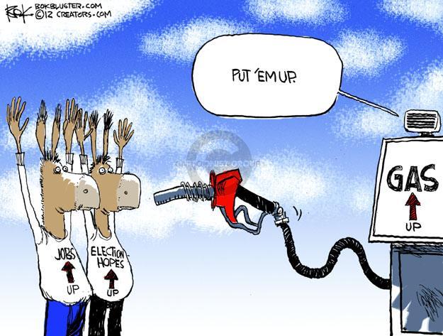 Chip Bok  Chip Bok's Editorial Cartoons 2012-02-21 2012 election