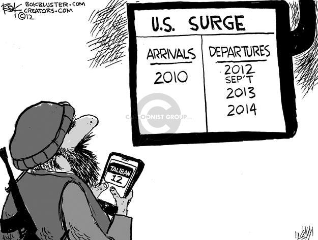 Cartoonist Chip Bok  Chip Bok's Editorial Cartoons 2012-03-16 Afghanistan