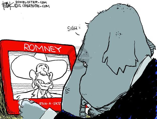 Cartoonist Chip Bok  Chip Bok's Editorial Cartoons 2012-03-26 former president