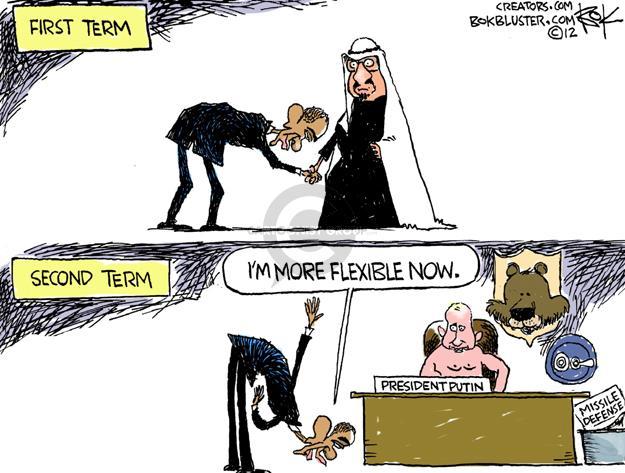 Cartoonist Chip Bok  Chip Bok's Editorial Cartoons 2012-03-29 presidential administration