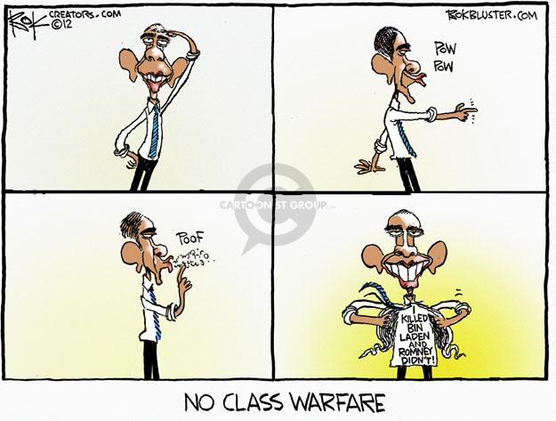 Cartoonist Chip Bok  Chip Bok's Editorial Cartoons 2012-05-01 Obama Romney
