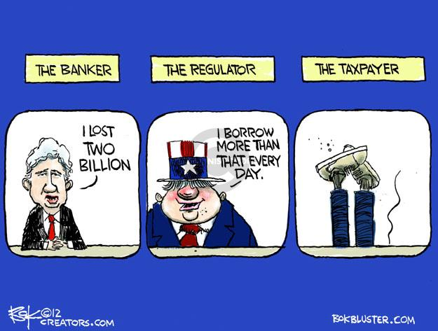 Cartoonist Chip Bok  Chip Bok's Editorial Cartoons 2012-05-16 lose