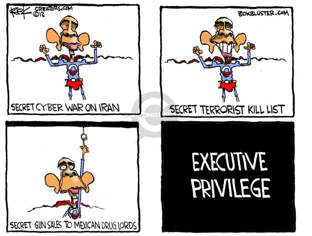 Chip Bok  Chip Bok's Editorial Cartoons 2012-06-22 Iran