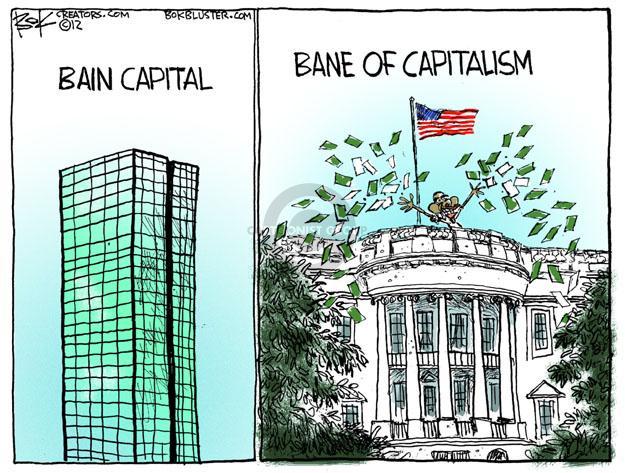 Cartoonist Chip Bok  Chip Bok's Editorial Cartoons 2012-07-14 former president