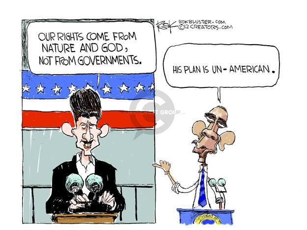 Cartoonist Chip Bok  Chip Bok's Editorial Cartoons 2012-08-11 Paul Ryan