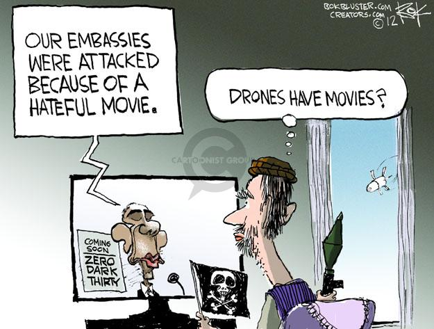 Chip Bok  Chip Bok's Editorial Cartoons 2012-09-17 Al Qaeda