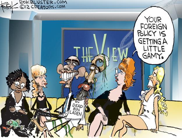 Cartoonist Chip Bok  Chip Bok's Editorial Cartoons 2012-09-25 international relations
