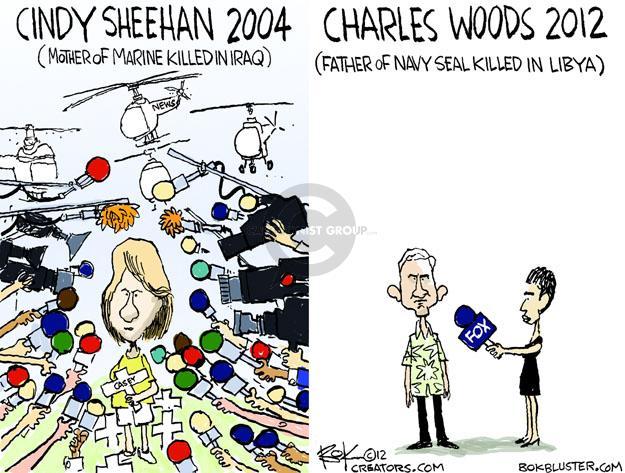 Chip Bok  Chip Bok's Editorial Cartoons 2012-11-01 fox