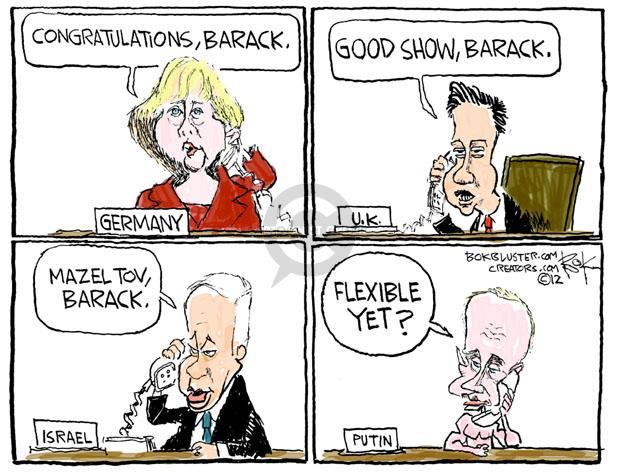Cartoonist Chip Bok  Chip Bok's Editorial Cartoons 2012-11-07 international relations