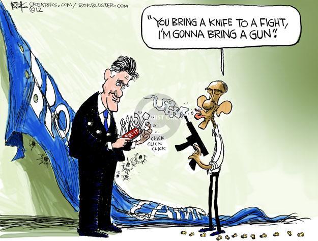 Cartoonist Chip Bok  Chip Bok's Editorial Cartoons 2012-11-09 former president