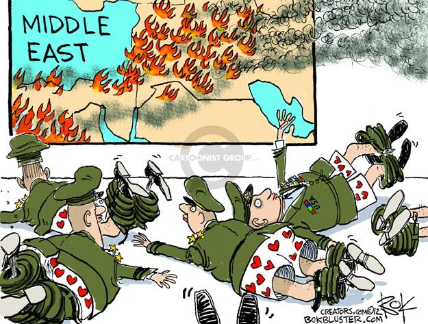Cartoonist Chip Bok  Chip Bok's Editorial Cartoons 2012-11-16 Middle East