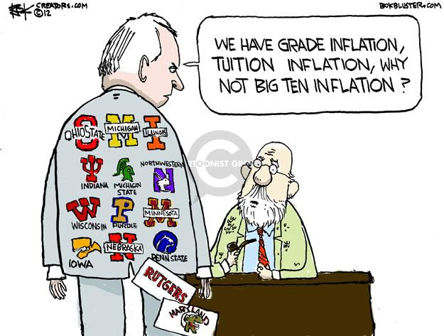 Cartoonist Chip Bok  Chip Bok's Editorial Cartoons 2012-11-23 college