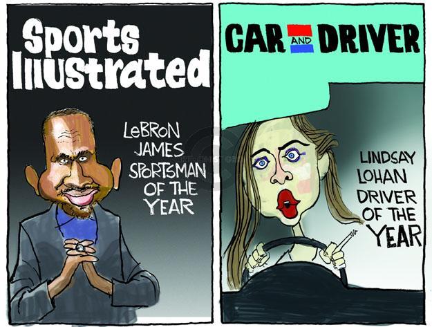 Cartoonist Chip Bok  Chip Bok's Editorial Cartoons 2012-12-11 car driver