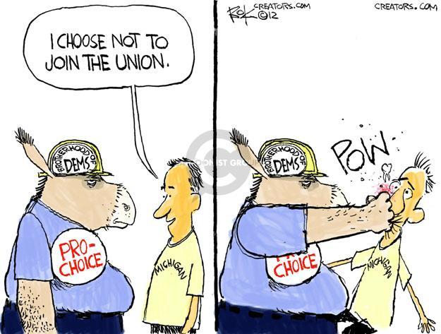 Cartoonist Chip Bok  Chip Bok's Editorial Cartoons 2012-12-14 pro